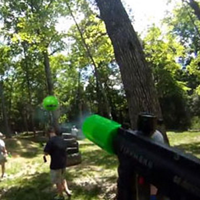 Bazooka Ball Photo Link